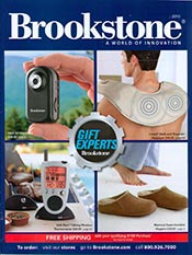 Picture of brookstone stores from Brookstone catalog