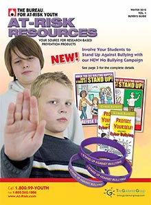 Picture of at risk youth from Bureau for At-Risk Youth catalog