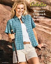 Picture of Cabelas catalog from Cabela's Women's Clothing catalog