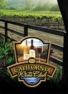 Picture of wine of the month club from The California Wine Club catalog