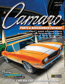 Picture of Camaro restoration parts from Camaro Parts from Classic Industries catalog