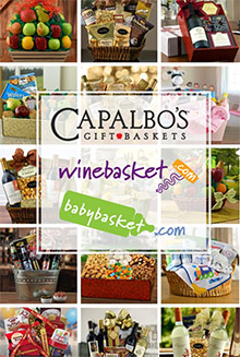 Picture of capalbo's gift baskets from Capalbo's Gift Baskets catalog
