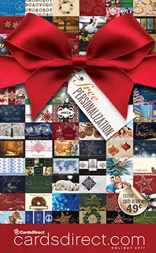 Picture of business christmas cards printing from CardsDirect - Christmas Catalog catalog