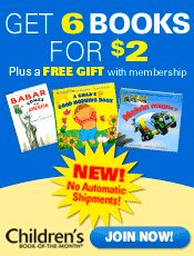Picture of Children's Books from Children's Book of the Month catalog
