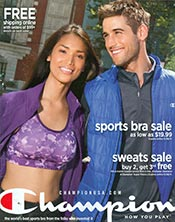 Picture of champion sportswear from Champion - OLD catalog