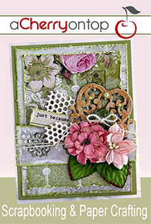 Picture of cherry on top scrapbooking from A Cherry On Top catalog