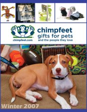 Picture of dog owner gifts from Chimpfeet catalog