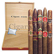 Picture of cigar humidors from Cigar.com catalog