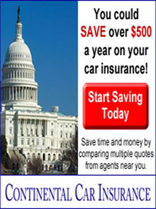 Picture of continental car insurance catalog from Continental Car Insurance - Cancelled catalog