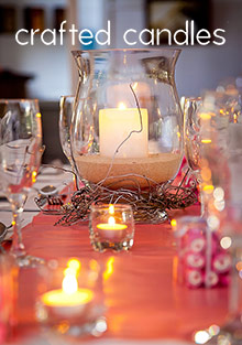 Picture of best candles from Crafted Candles catalog