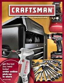 Picture of Craftsman tools from Craftsman Tools catalog
