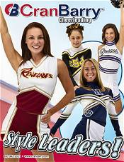 Picture of cheer uniforms from Cran Barry, Inc. catalog