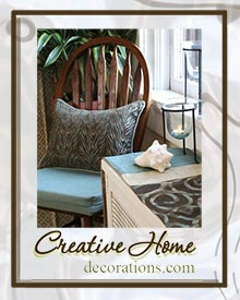 Picture of creative home accents from Creative Home Decorations catalog