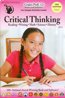 Picture of teach critical thinking skills from The Critical Thinking Co.  catalog
