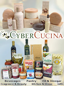 Picture of gourmet shop from CyberCucina Gourmet Food & Gift Baskets catalog