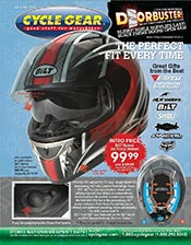 Picture of motorcycle parts catalog from CycleGear - Street  catalog