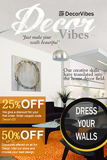 Picture of decorvibes catalog from DecorVibes catalog
