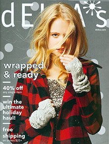 Picture of teen clothes from dELiA*s catalog