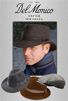 Picture of delmonico hatter from DelMonico Hatter  catalog