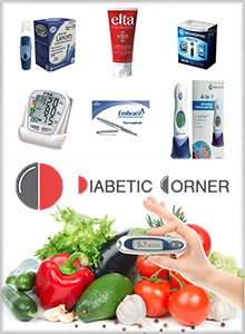 Picture of glucose tolerance test from Diabetic Corner  catalog