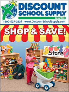 Picture of preschool crafts from Discount School Supply - DYNALOG ONLY catalog