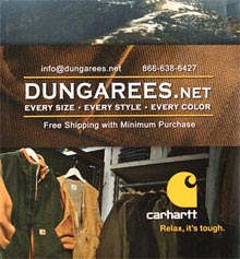 Picture of Carhartt work clothes from Dungarees.net catalog