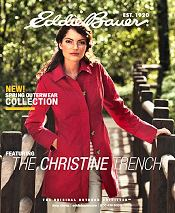 Picture of online clothing stores from Eddie Bauer catalog