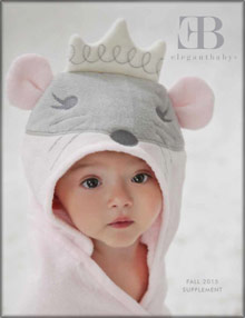 Picture of creative baby shower gifts from Elegant Baby catalog