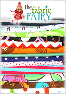 Picture of the fabric fairy from The Fabric Fairy catalog