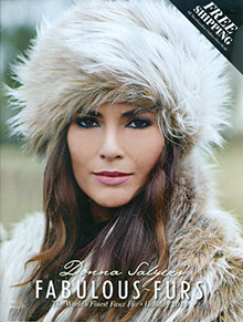 Picture of faux fur from Fabulous Furs catalog