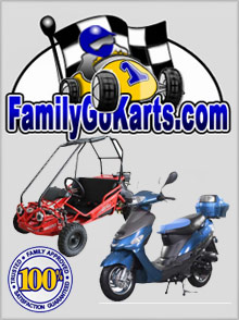 Picture of family go karts from Family Go Karts catalog