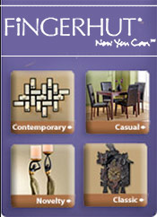 Picture of furniture and home furnishings from Fingerhut Home catalog