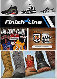 Picture of Finish Line store from Finish Line catalog