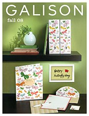 Picture of fine art  stationery  from Galison catalog