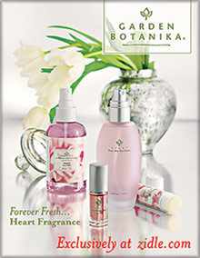 Picture of natural organic skin care from Garden Botanika exclusively at Zidle.com catalog