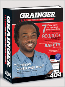 Picture of grainger catalog from Grainger catalog