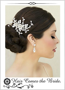 Picture of hair comes the bride from Hair Comes the Bride catalog