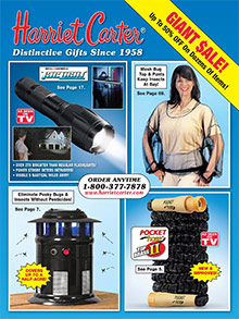 Picture of Harriet Carter catalog from Harriet Carter Gifts catalog