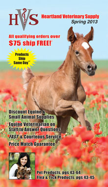 Picture of equine supplies from Heartland Vet Supply - Equine catalog