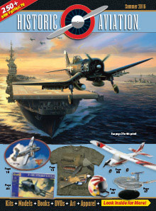 Picture of historic aviation catalog from Historic Aviation catalog