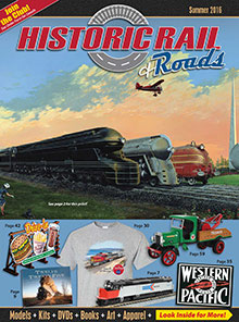 Picture of historic rail catalog from Historic Rail catalog