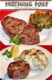 Picture of buy steaks online from Hitching Post Steaks catalog