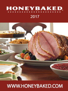 Picture of honey baked ham catalog from The HoneyBaked Ham Company catalog
