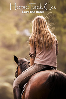Picture of horse tack company from Horse Tack Co. catalog