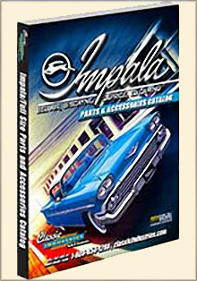 Picture of impala parts catalog from Impala Full Size by Classic Industries catalog