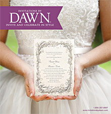 Picture of Disney wedding invitations from Invitations by Dawn catalog