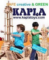 Picture of kapla blocks from Kapla USA catalog