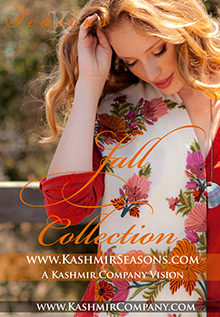 Picture of cashmere shawls from Seasons - Cashmere & Shawls catalog