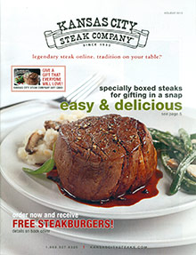 Picture of kansas city steak company from Kansas City Steak Company catalog