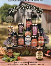 Picture of fig preserves from Kozlowski Farms catalog